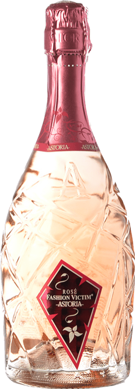 14,95 € Free Shipping | Rosé sparkling Astoria Fashion Victim Rosé Italy Bottle 75 cl