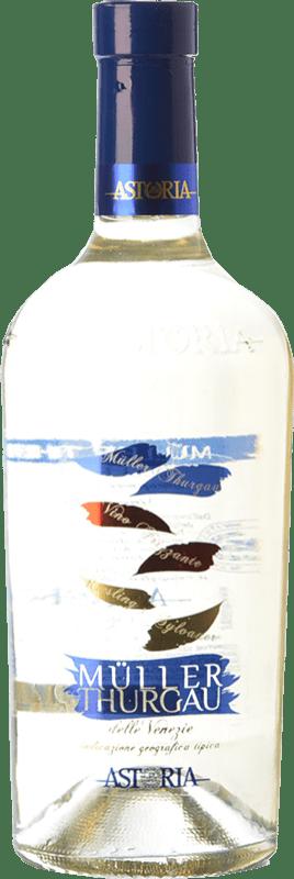 16,95 € Free Shipping | White sparkling Astoria Frizzante I.G.T. Friuli-Venezia Giulia Friuli-Venezia Giulia Italy Müller-Thurgau Bottle 75 cl