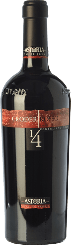 24,95 € Envío gratis   Vino tinto Astoria Croder D.O.C. Colli di Conegliano Veneto Italia Merlot, Cabernet Sauvignon, Cabernet Franc, Marzemino Botella 75 cl