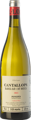 24,95 € Free Shipping | White wine AT Roca Cantallops Crianza D.O. Penedès Catalonia Spain Xarel·lo Bottle 75 cl