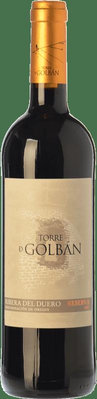 13,95 € Envío gratis   Vino tinto Atalayas de Golbán Torre de Golbán Reserva D.O. Ribera del Duero Castilla y León España Tempranillo Botella 75 cl