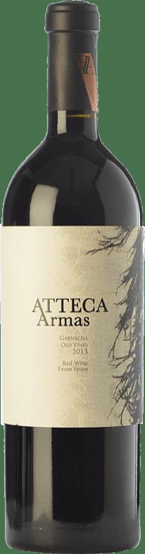 37,95 € Free Shipping | Red wine Ateca Atteca Armas Crianza D.O. Calatayud Aragon Spain Grenache Bottle 75 cl