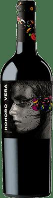 5,95 € Envío gratis | Vino tinto Ateca Honoro Vera Joven D.O. Calatayud Aragón España Garnacha Botella 75 cl