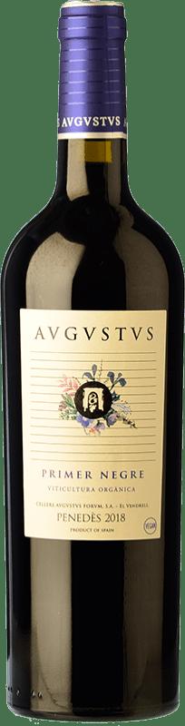 10,95 € Free Shipping | Red wine Augustus Merlot-Syrah Joven D.O. Penedès Catalonia Spain Merlot, Syrah Bottle 75 cl