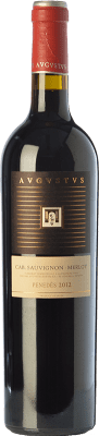 13,95 € Free Shipping | Red wine Augustus Crianza D.O. Penedès Catalonia Spain Merlot, Cabernet Sauvignon Bottle 75 cl