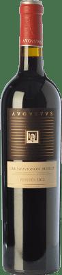 12,95 € Free Shipping | Red wine Augustus Crianza D.O. Penedès Catalonia Spain Merlot, Cabernet Sauvignon Bottle 75 cl