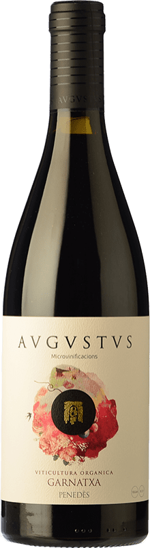 15,95 € Free Shipping | Red wine Augustus Microvinificacions Joven D.O. Penedès Catalonia Spain Grenache Bottle 75 cl