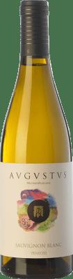 9,95 € Free Shipping | White wine Augustus Microvinificacions D.O. Penedès Catalonia Spain Sauvignon White Bottle 75 cl