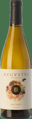 15,95 € Envoi gratuit | Vin blanc Augustus Microvinificacions Macabeu Crianza D.O. Penedès Catalogne Espagne Macabeo Bouteille 75 cl
