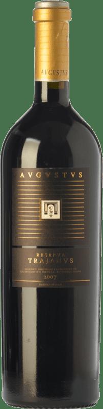 23,95 € Free Shipping | Red wine Augustus Trajanus Crianza D.O. Penedès Catalonia Spain Merlot, Cabernet Sauvignon, Cabernet Franc Bottle 75 cl