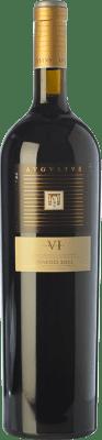 23,95 € Free Shipping | Red wine Augustus VI Crianza D.O. Penedès Catalonia Spain Tempranillo, Merlot, Syrah, Grenache, Cabernet Sauvignon, Cabernet Franc Magnum Bottle 1,5 L