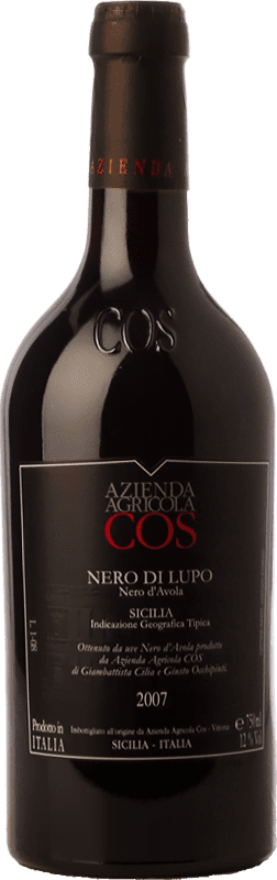14,95 € Envoi gratuit | Vin rouge Cos Nero di Lupo Joven I.G.T. Terre Siciliane Sicile Italie Nero d'Avola Bouteille 75 cl