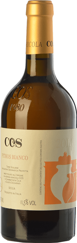 21,95 € Envoi gratuit | Vin blanc Cos Pithos Bianco I.G.T. Terre Siciliane Sicile Italie Grecanico Dorato Bouteille 75 cl