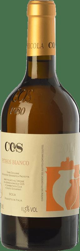 21,95 € Envío gratis   Vino blanco Cos Pithos Bianco I.G.T. Terre Siciliane Sicilia Italia Grecanico Dorato Botella 75 cl