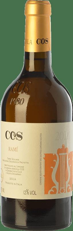 16,95 € Envoi gratuit | Vin blanc Cos Ramì I.G.T. Terre Siciliane Sicile Italie Insolia, Grecanico Dorato Bouteille 75 cl