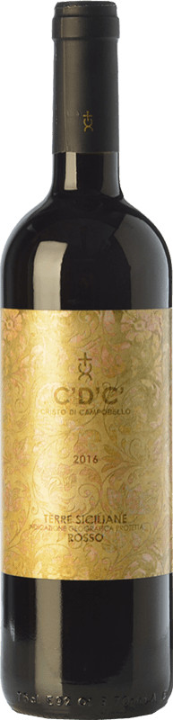 9,95 € Envoi gratuit   Vin rouge Cristo di Campobello C'D'C' Rosso I.G.T. Terre Siciliane Sicile Italie Merlot, Syrah, Cabernet Sauvignon, Nero d'Avola Bouteille 75 cl