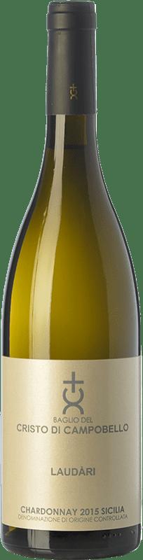 19,95 € Envoi gratuit   Vin blanc Cristo di Campobello Laudàri I.G.T. Terre Siciliane Sicile Italie Chardonnay Bouteille 75 cl