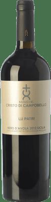 26,95 € Free Shipping | Red wine Cristo di Campobello Lu Patri I.G.T. Terre Siciliane Sicily Italy Nero d'Avola Bottle 75 cl