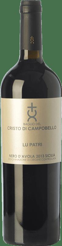 26,95 € Envoi gratuit   Vin rouge Cristo di Campobello Lu Patri I.G.T. Terre Siciliane Sicile Italie Nero d'Avola Bouteille 75 cl