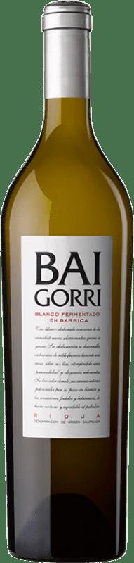 14,95 € Free Shipping | White wine Baigorri Fermentado en Barrica Crianza D.O.Ca. Rioja The Rioja Spain Viura Bottle 75 cl
