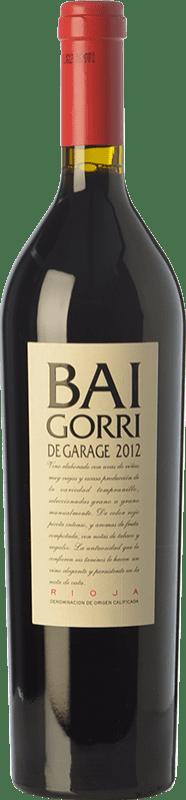 41,95 € Free Shipping | Red wine Baigorri Garage Crianza D.O.Ca. Rioja The Rioja Spain Tempranillo Bottle 75 cl