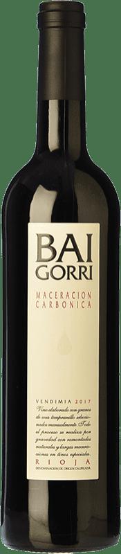 7,95 € Free Shipping | Red wine Baigorri Maceración Carbónica Joven D.O.Ca. Rioja The Rioja Spain Tempranillo Bottle 75 cl