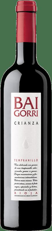 11,95 € Free Shipping | Red wine Baigorri Crianza D.O.Ca. Rioja The Rioja Spain Tempranillo Bottle 75 cl