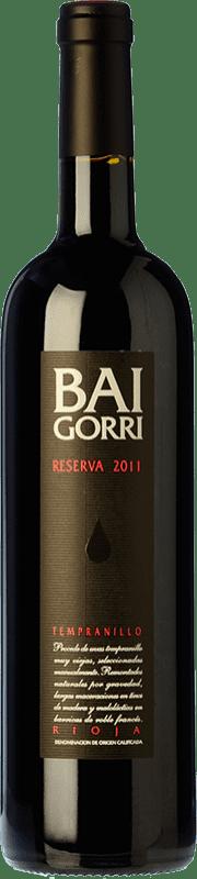 46,95 € Free Shipping | Red wine Baigorri Reserva D.O.Ca. Rioja The Rioja Spain Tempranillo Magnum Bottle 1,5 L