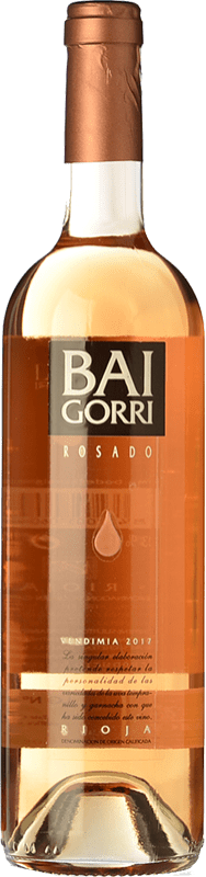 8,95 € Free Shipping | Rosé wine Baigorri D.O.Ca. Rioja The Rioja Spain Tempranillo, Grenache Bottle 75 cl