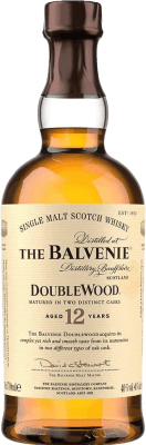 47,95 € Free Shipping | Whisky Single Malt Balvenie Doublewood 12 Speyside United Kingdom Bottle 70 cl