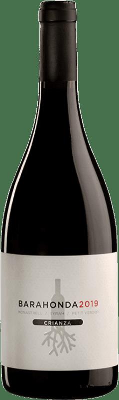 10,95 € Free Shipping | Red wine Barahonda Crianza D.O. Yecla Region of Murcia Spain Syrah, Monastrell, Petit Verdot Bottle 75 cl