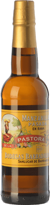 28,95 € Бесплатная доставка | Крепленое вино Barbadillo Manzanilla Pasada Pastora D.O. Manzanilla-Sanlúcar de Barrameda Андалусия Испания Palomino Fino бутылка 75 cl