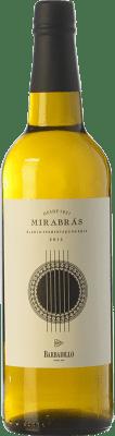 18,95 € Free Shipping | White wine Barbadillo Mirabrás I.G.P. Vino de la Tierra de Cádiz Andalusia Spain Palomino Fino Bottle 75 cl