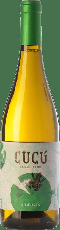 12,95 € Free Shipping | White wine Barco del Corneta Cucú Crianza I.G.P. Vino de la Tierra de Castilla y León Castilla y León Spain Verdejo Bottle 75 cl