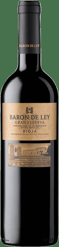 19,95 € Free Shipping | Red wine Barón de Ley Gran Reserva D.O.Ca. Rioja The Rioja Spain Tempranillo Bottle 75 cl
