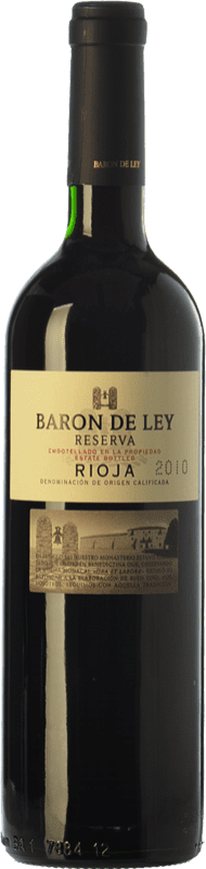 99,95 € Free Shipping | Red wine Barón de Ley Reserva D.O.Ca. Rioja The Rioja Spain Tempranillo Special Bottle 5 L