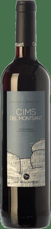 11,95 € Envío gratis | Vino tinto Baronia Cims del Montsant Joven D.O. Montsant Cataluña España Garnacha, Samsó Botella 75 cl
