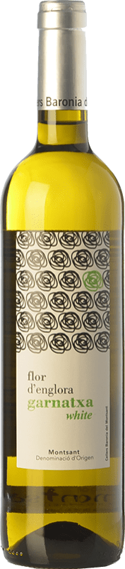 6,95 € Free Shipping | White wine Baronia Flor d'Englora Blanc D.O. Montsant Catalonia Spain Grenache White, Macabeo Bottle 75 cl