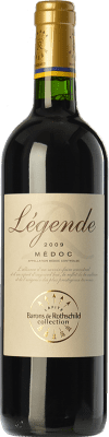 12,95 € Free Shipping | Red wine Barons de Rothschild Collection Légende Joven A.O.C. Médoc Bordeaux France Merlot, Cabernet Sauvignon, Cabernet Franc Bottle 75 cl