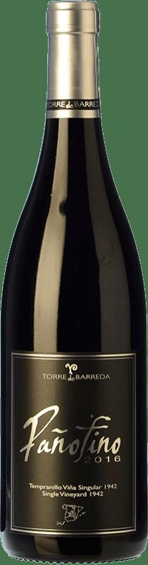 17,95 € Free Shipping | Red wine Barreda Pañofino Crianza I.G.P. Vino de la Tierra de Castilla Castilla la Mancha Spain Tempranillo Bottle 75 cl