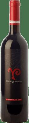 8,95 € Free Shipping | Red wine Barreda Torre de Barreda Joven I.G.P. Vino de la Tierra de Castilla Castilla la Mancha Spain Tempranillo Bottle 75 cl