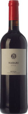 8,95 € Free Shipping | Red wine Basagoiti Nabari Joven D.O.Ca. Rioja The Rioja Spain Tempranillo, Grenache Bottle 75 cl