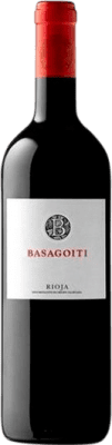 11,95 € Free Shipping | Red wine Basagoiti Crianza D.O.Ca. Rioja The Rioja Spain Tempranillo, Grenache Bottle 75 cl