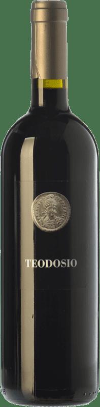 12,95 € Free Shipping | Red wine Basilisco Teodosio D.O.C. Aglianico del Vulture Basilicata Italy Aglianico Bottle 75 cl