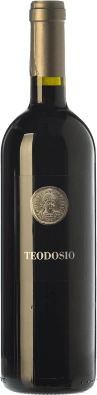 12,95 € Envío gratis | Vino tinto Basilisco Teodosio D.O.C. Aglianico del Vulture Basilicata Italia Aglianico Botella 75 cl