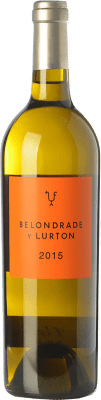 105,95 € Free Shipping | White wine Belondrade Lurton Crianza D.O. Rueda Castilla y León Spain Verdejo Magnum Bottle 1,5 L | Thousands of wine lovers trust us to get the best price guarantee, free shipping always and hassle-free shopping and returns.