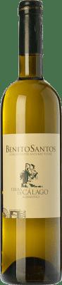 8,95 € Envío gratis | Vino blanco Benito Santos Terra de Cálago D.O. Rías Baixas Galicia España Albariño Botella 75 cl