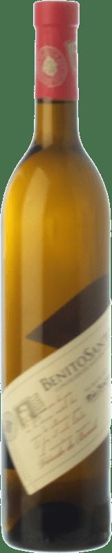 12,95 € Free Shipping | White wine Benito Santos Viñedo de Bemil D.O. Rías Baixas Galicia Spain Albariño Bottle 75 cl