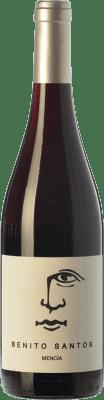 12,95 € Free Shipping | Red wine Benito Santos Joven D.O. Monterrei Galicia Spain Mencía Bottle 75 cl