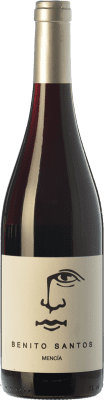 11,95 € Envío gratis | Vino tinto Benito Santos Joven D.O. Monterrei Galicia España Mencía Botella 75 cl